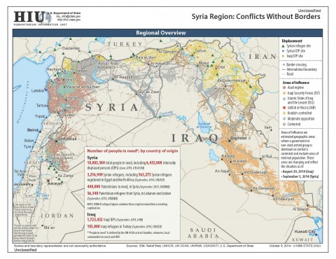 The Islamic State in the Levant and the Conflicts in Syria and Iraq: a Factual Guide – Part 1