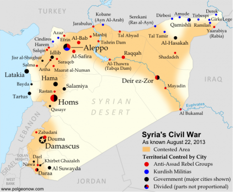 The Islamic State in the Levant and the Conflicts in Syria and Iraq: a Factual Guide – Part 2