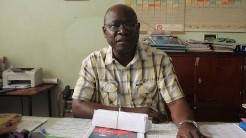 Joseph Anane des Cours Sacré-Cœur de Dakar s'exprime sur l'enseignement primaire et secondaire au Sénégal