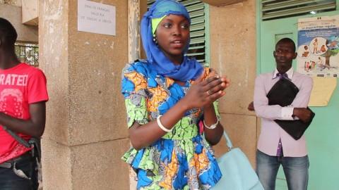 Anta Dieng, candidate au Baccalauréat franco-arabe s'exprime sur les difficultés de ce type d'enseignement au Sénégal