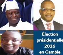 Presentation of the candidates to the 2016 presidential election in The Gambia
