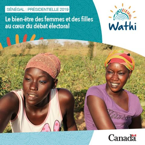 Initiative Femme élection Sénégal 2019